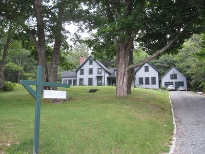 Photo for Architect Designed Home on Penobscot Bay, Maine
