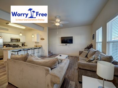 Photo for Perfect place for a family wanting to stay together & be close to the Beach!
