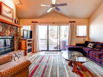 Photo for 20% Off Spring! Centrally Located to Main St, Private Hot Tub, Gas Grill, Wi-Fi