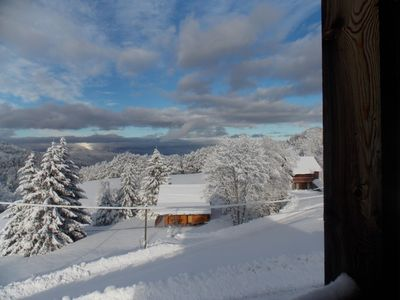 Photo for Chalet comfortable with splendid views of the valley.
