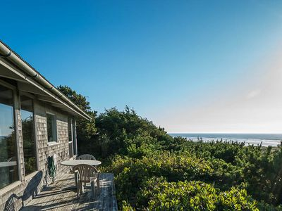 Photo for Get Above it All with Spectacular Ocean Views from this Cliff-Top Cabin!