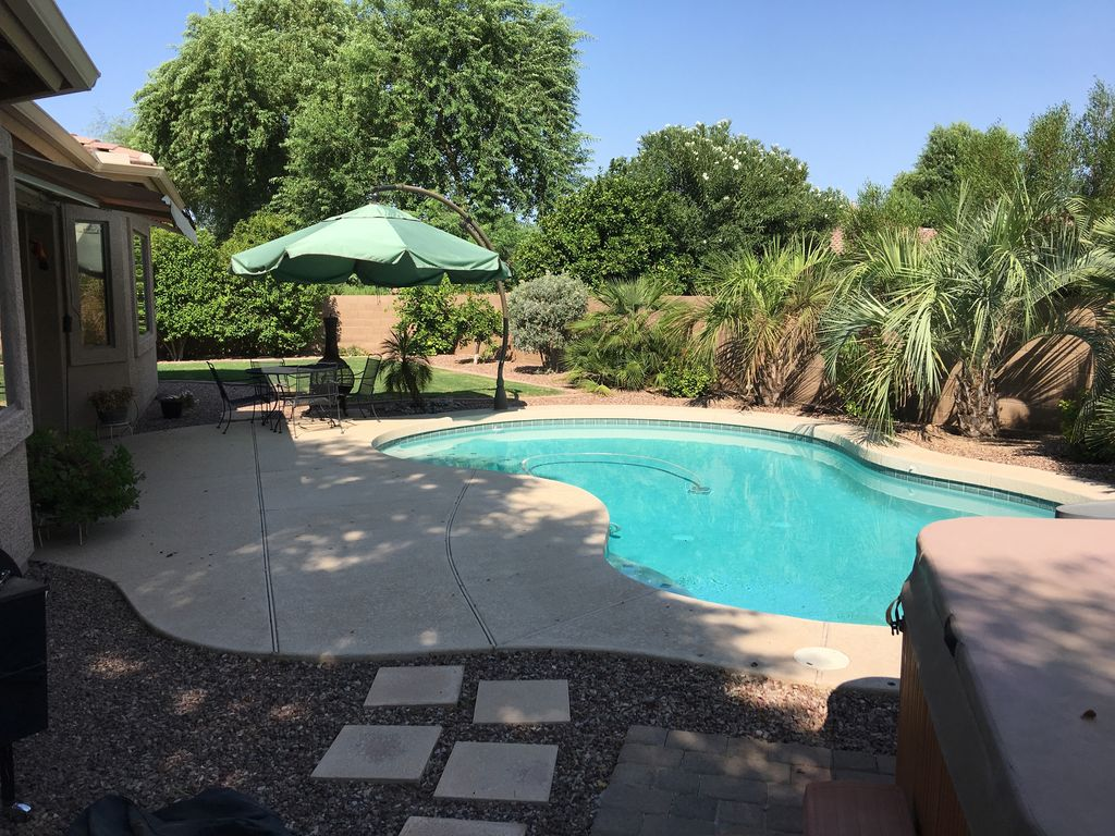 NEW Single Level Resort Like Home W/Private Heated Swimming Pool / Power  Ranch   Power Ranch