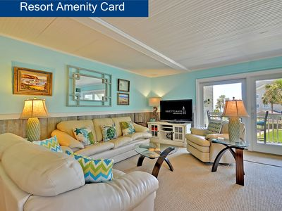 Photo for Upgraded- Partial Ocean View Seagrove Villa- Comes with a SPORTS CARD!