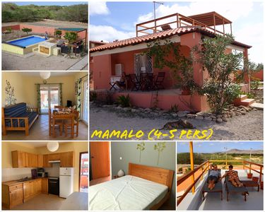 Photo for Full equipped bungalows with swimming pool, wifi, garden for 2 to 5 people