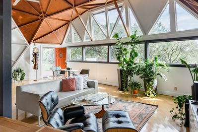 23' High Ceilings with a ton of natural light - come feel the good vibes!
