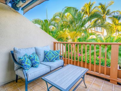 Photo for Save 25%! 2BR+2BA at Maui Kamaole With Lanai, Steps to the Beach