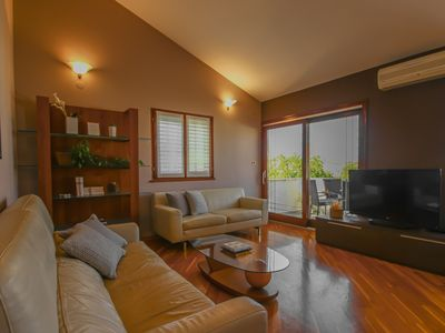 Photo for Holiday apartment with balcony and bike rental