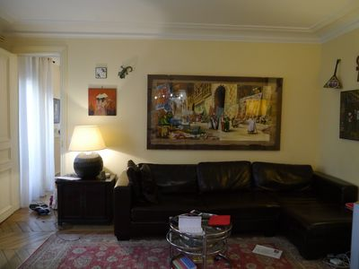 Photo for Spacious, full of light Central Paris Apartment