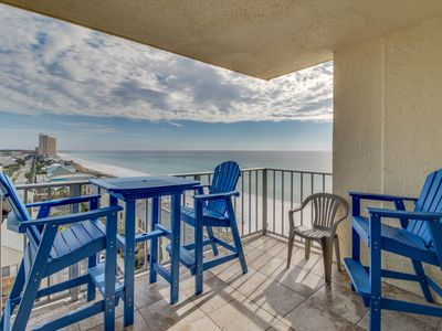 Photo for Waterfront condo w/ views, beach access, shared pools/hot tub, snowbirds welcome