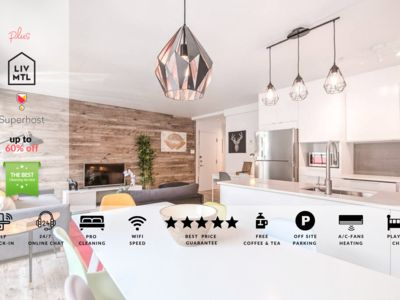 Photo for Liv MTL | Urban 2 | Up to 60% OFF | Dramatic Modern 2BR + Big Family