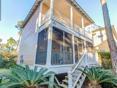 Photo for Beaches and Pools open! Spacious 2BR @ Purple Parrot Resort + 2 Pools, Sleeps 7