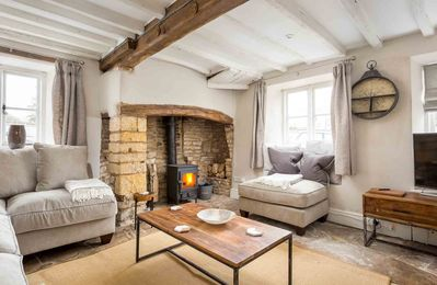 Photo for Heath Cottage is a beautiful, Grade II listed cottage, located in the town of Stow-on-the-Wold