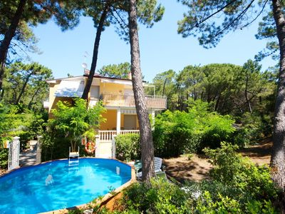 Photo for Amazing location ! super nice villa 2 pools in wide park 2 min walk to the beach