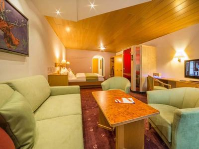 """Photo for Mountain and hiking experience in the room """"Edelweiss"""" - Alpenhof, country hotel"""