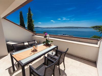 Photo for Beautiful sea view - Apartment Maslina v