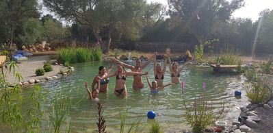 Photo for Mallorcan finca, with natural living pool,