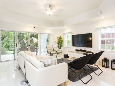 Photo for Whisper Way Contempo | Modern Decor, Ground Floor Condo Minutes From All Attractions