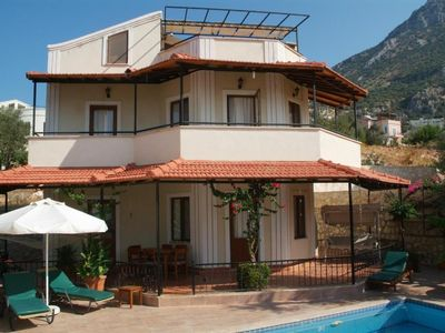 Photo for Private 3 bedroom en suite villa with tiered swimming pool