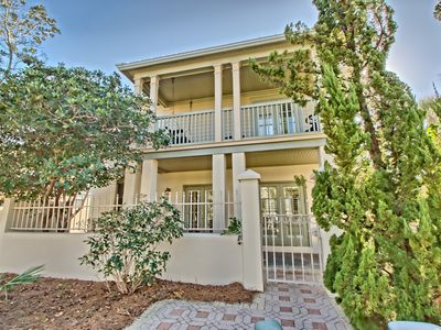 Photo for Burkes Beach Bungalow,  80 steps to beach & beachfront pool,southside 30a,