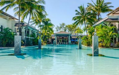 Photo for Sea Temple Port Douglas 3 bedroom poolside