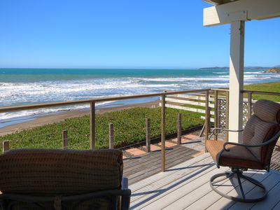 Photo for Oceanfront Escape: 4  BR, 3  BA Condominium in San Simeon, Sleeps 10