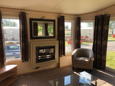 Photo for LUXURY AND NEW CARAVAN FOR HIRE ON SOUTHVIEW, SKEGNESS