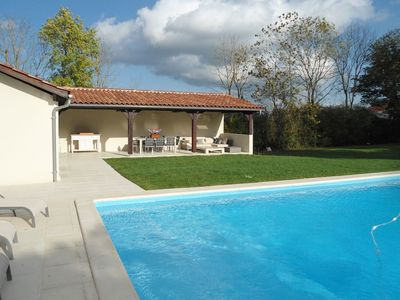 Photo for Luxurious Holiday Home in Buzon with Private Pool