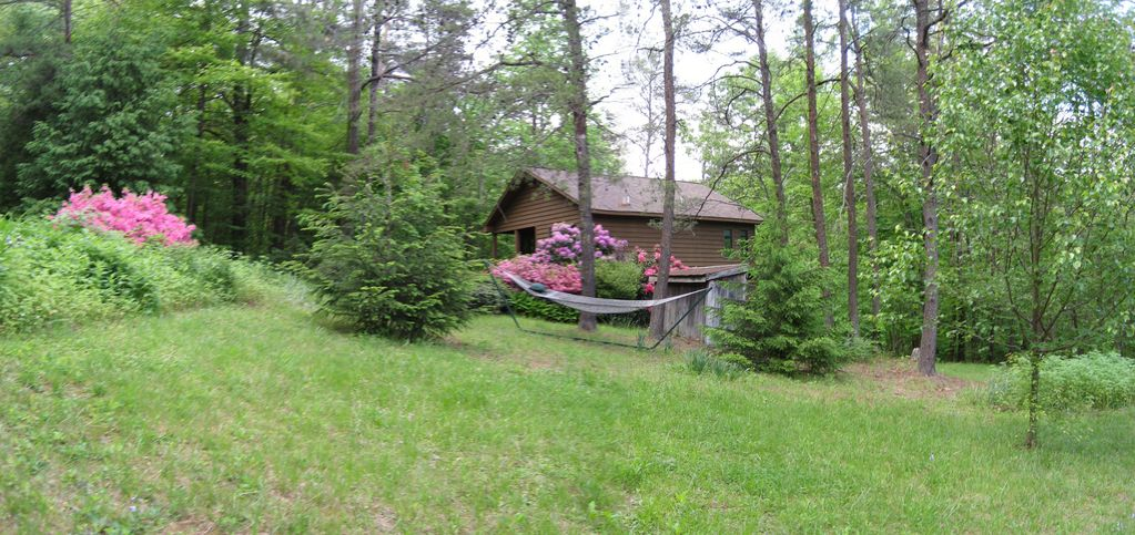 Secluded romantic mountain cabin for 2 fully equipped for Charlottesville cabin rentals hot tub