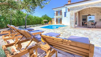 Photo for Beautiful Mediterranean villa on island Krk