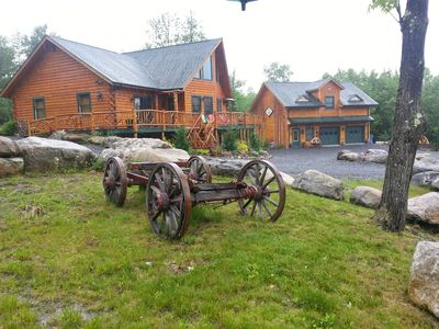 Photo for ***Adirondack Rustic Lodge minutes to Whiteface ***