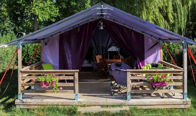 Photo for Camping La Promenade *** - Freeflower Confort Plus 3 Rooms 5 People