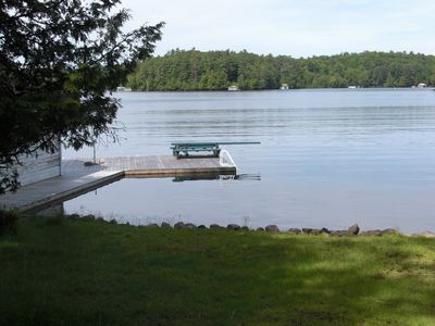 Dock and diving board