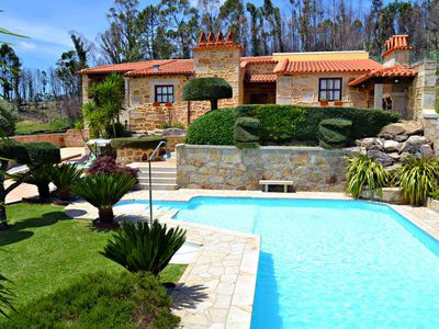 Photo for Detached house with private pool