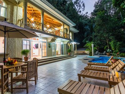 Photo for Private Gated Jungle House - Close to the Beach!  Low introductory rate!