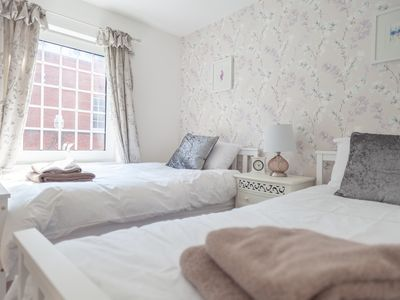 Photo for Celias Apartment is cosy and modern and situated in the market town of Leek.