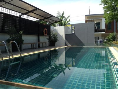 Photo for 3 bedroom, 2 bathroom townhouse in private development.