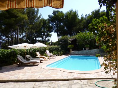 Photo for CARQUEIRANNE APARTMENT WITH POOL 2MN BEACH