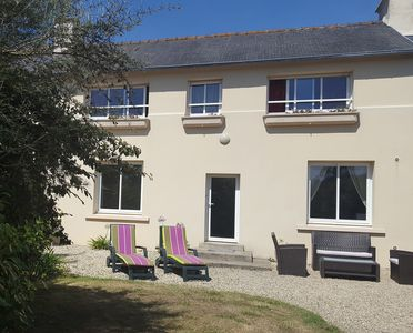 Photo for Holiday home above the bay of Paimpol, spacious and bright.
