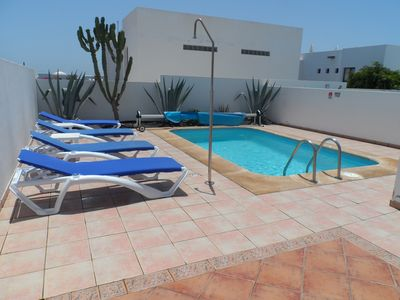 Photo for Villa with private pool, WIFI, Internet UK TV, New Bathroom, Great Location