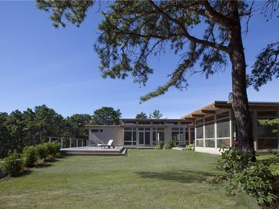 Photo for Stunning 4BD Great Island Mid Century Contemporary--A/C, Indoor Pool, Close to Beach