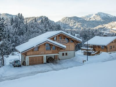 Photo for Luxury catered ski chalet - prices quoted for up to 10 people exclusive use