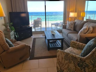 Photo for Well Furnished Condo with Free Beach Service!!