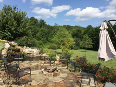 Meadow Run Falls; Downtown Asheville; River Arts District, HOT TUB & more!