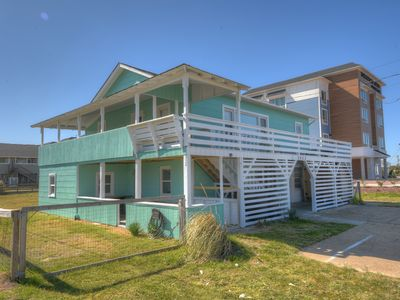 Photo for Modernized 1960's Semi-Oceanfront Cottage - Dog Friendly with Large Fenced Yard!