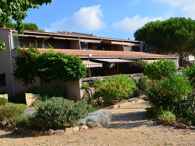 Photo for Bormes-les-Mimosas Heights, panoramic view 1km from the village and beaches 1/4 h
