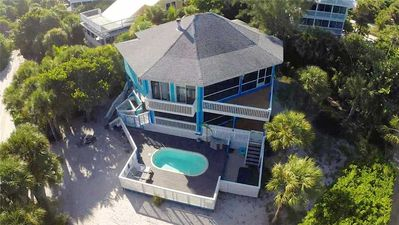 Photo for A LOVELY SPACIOUS 5 BEDROOM BEACHFRONT HOUSE ON NORTH CAPTIVA ISLAND WITH PRIVATE POOL!