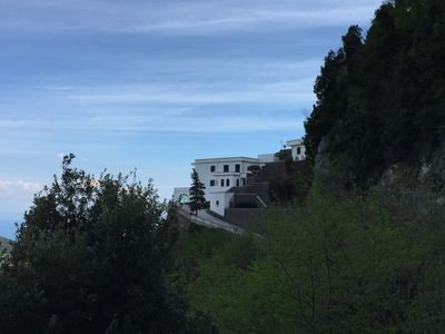 "Photo for Ravello ""Villa Adagio"", panoramic with gardens and independent solutions"