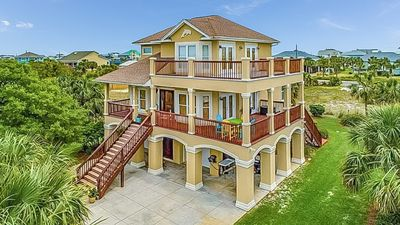 Photo for NEW LISTING! Spacious home with Water Views & Large Wrap-Around Deck!