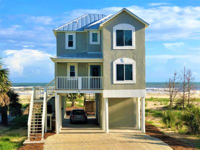 Photo for Gulf Front!Newly renovated!Screen Porch!Fire Pit!Sundeck!Beach Equipment!
