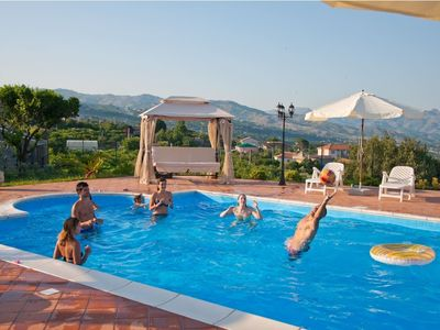 """Photo for Up to 16 guests - swimming pool-garden - BBQ -wi-fi - 3km sea by """"SunTripSicily"""""""